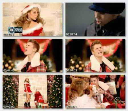 Justin Bieber & Mariah Carey - All I Want for Christmas Is You